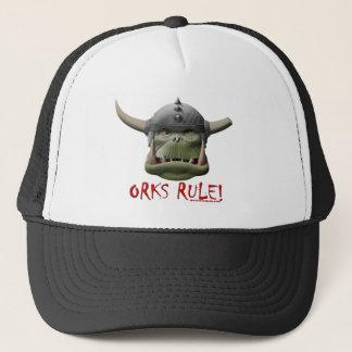 Orks Regel! Truckerkappe