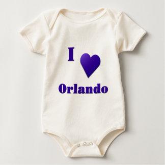 Orlando -- Mitternachtsblau Baby Strampler