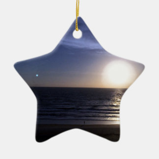 Ormond Strand-Sonnenaufgang Keramik Ornament