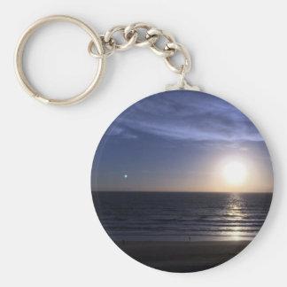 Ormond Strand-Sonnenaufgang Schlüsselanhänger