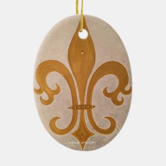 """Ornament """"Goldene Lilie"""""""