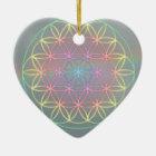 """Ornament ~ Heart~Energy """"Flower Of Life"""""""