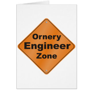 Ornery Ingenieur Karte