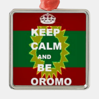 Oromo Produkte Silbernes Ornament