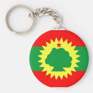 Oromo Schlüsselkette Standard Runder Schlüsselanhänger