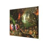 Orpheus mit einer Harfe, die zu Pluto spielt Galerie Falt Leinwand