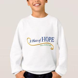 Ort des Hoffnungs-Logos Sweatshirt