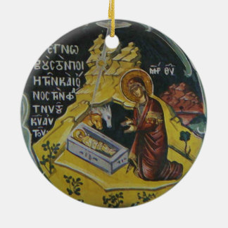 Orthodoxe Geburt Christisikone Keramik Ornament