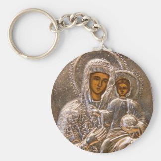 Orthodoxe Ikone Schlüsselanhänger