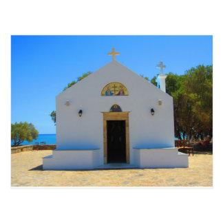 Orthodoxe Kirche in Gouves, Kreta-Postkarte Postkarte