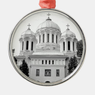 Orthodoxe Kirche Silbernes Ornament