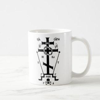 Orthodoxes großes Schema Ostern Kaffeetasse