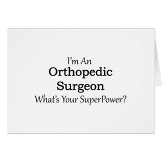 Orthopädischer Chirurg Karte