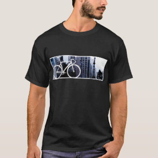 Örtlich festgelegt - Boston-Blau T-Shirt