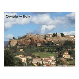 Orvieto, Italien Postkarte