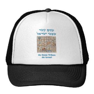 OS Brasões DAS dösen Tribos De Israel Retromützen