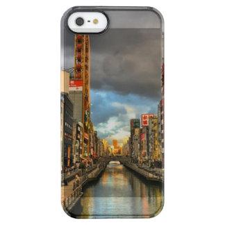 Osaka-Fluss Durchsichtige iPhone SE/5/5s Hülle