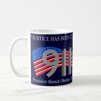 Osama bin Laden tot - Gerechtigkeit ist erfolgt Kaffeetasse