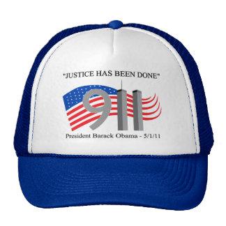 Osama bin Laden tot - Gerechtigkeit ist erfolgt wo Retrokappen