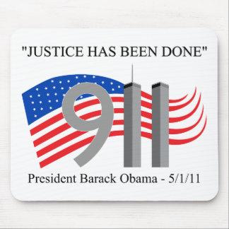 Osama bin Laden tot - Gerechtigkeit ist erfolgt wo Mousepads