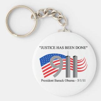 Osama bin Laden tot - Gerechtigkeit ist erfolgt wo Standard Runder Schlüsselanhänger