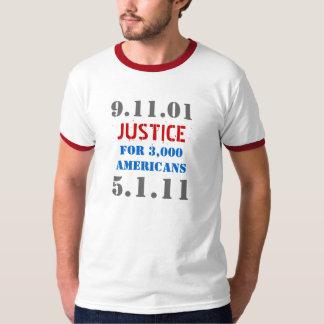 Osama bin Laden-Würfel - Gerechtigkeit 911 Tshirt