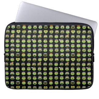 Oscar das Klage Emoji Muster Laptopschutzhülle