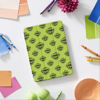 Oscar das Klage-Grün-Muster iPad Air Cover