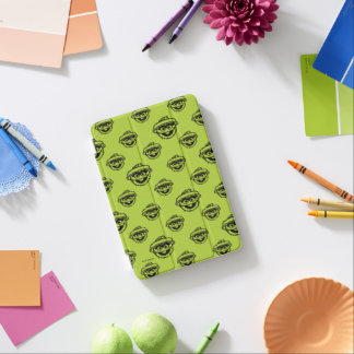 Oscar das Klage-Grün-Muster iPad Mini Cover