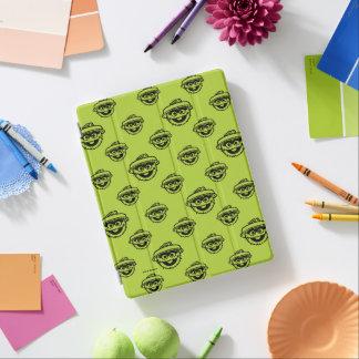 Oscar das Klage-Grün-Muster iPad Smart Cover