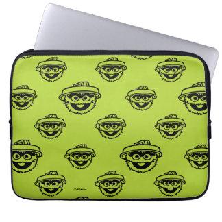Oscar das Klage-Grün-Muster Laptopschutzhülle