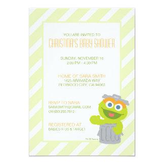 Oscar, den die Klage-Babyparty einladen 12,7 X 17,8 Cm Einladungskarte
