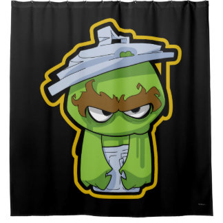 Oscar der Klage-Zombie Duschvorhang