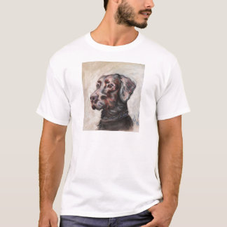 Oscar der schwarze Labrador T-Shirt