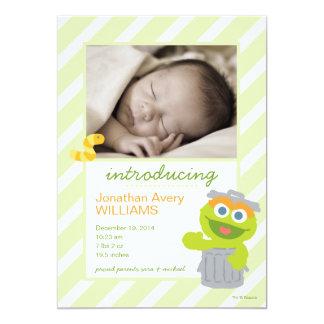 Oscar die Klage-Geburts-Mitteilung 12,7 X 17,8 Cm Einladungskarte