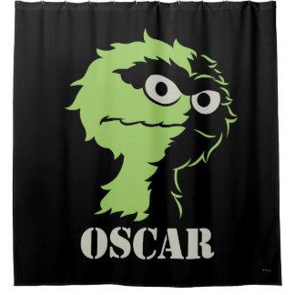 Oscar die Klage halb Duschvorhang