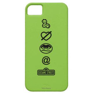 Oscar die Klage-Ikonen iPhone 5 Cover