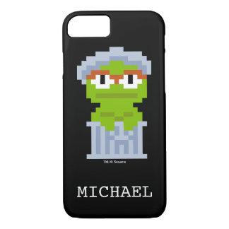 Oscar die Klage-Pixel-Kunst   addieren Ihren Namen iPhone 8/7 Hülle