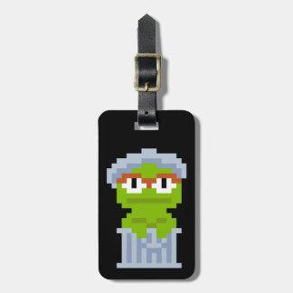 Oscar die Klage-Pixel-Kunst Kofferanhänger