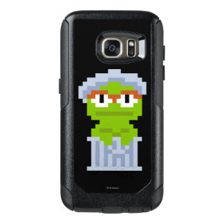 Oscar die Klage-Pixel-Kunst OtterBox Samsung Galaxy S7 Hülle