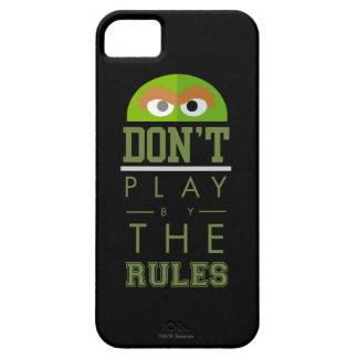 Oscar spielen nicht durch Regeln iPhone 5 Case