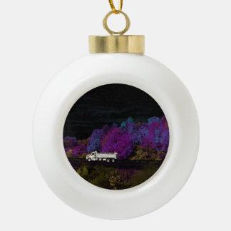 Oscar verlässt das Party Keramik Kugel-Ornament