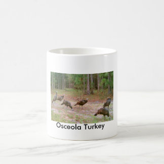Osceola Truthähne, Osceola die Türkei Kaffeetasse