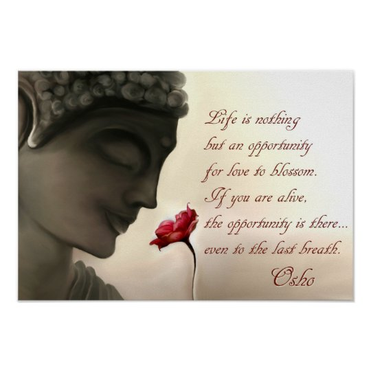 Osho Quote Poster