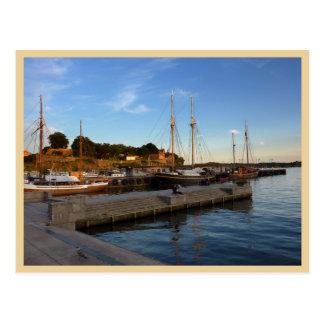 Oslo-Hafen Postkarte