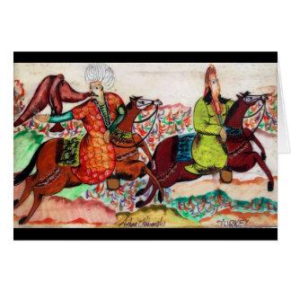 Osmane-edle Gruß-Karte Grußkarte
