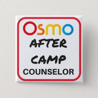 OSMO nach Lager-Ratgeber-Knopf Quadratischer Button 5,1 Cm