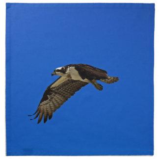 Osprey im Flug II Stoffserviette