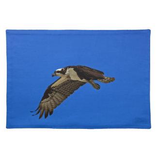 Osprey im Flug II Stofftischset