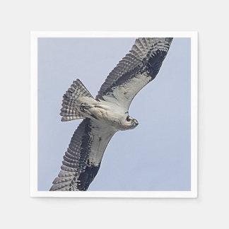 Osprey im Flug Papierserviette